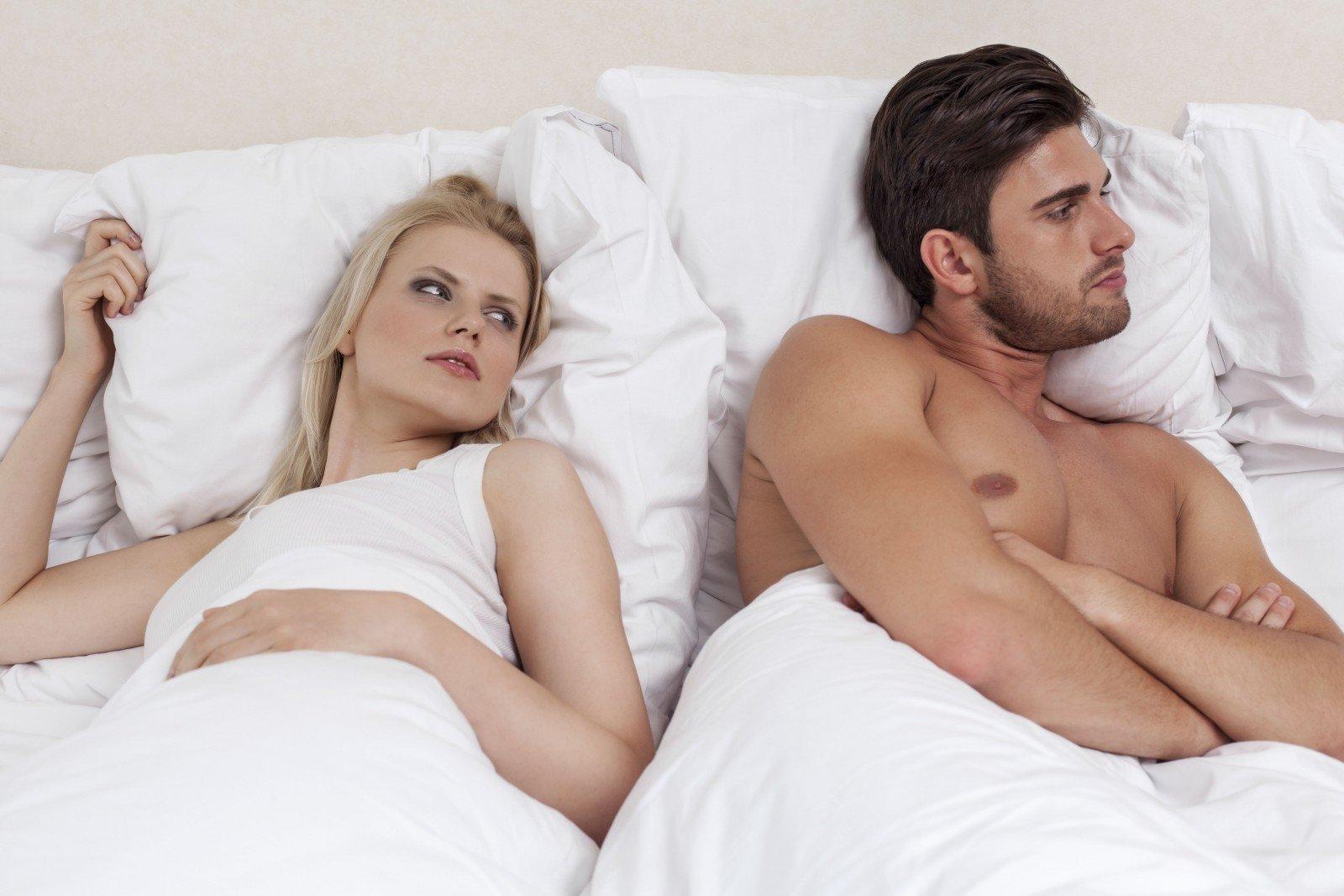 erekcijos problemų lytinio akto metu