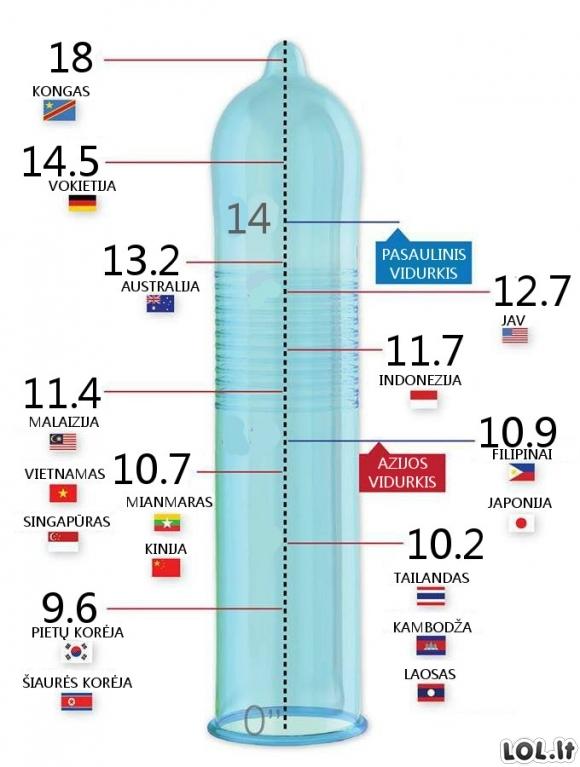 vyrų varpa ar penis yra didžiausia didinant varpos dydį su